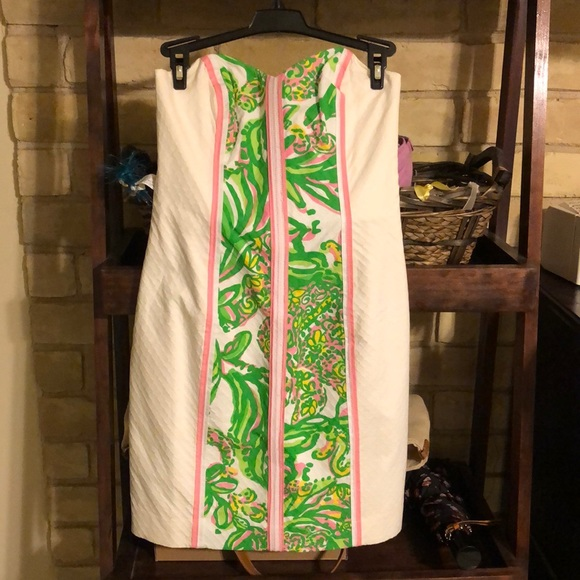 Lilly Pulitzer Dresses & Skirts - NWT Lilly Pulitzer Angela Strapless Dress, 00